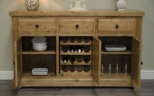 Regent solid oak furniture large living dining room sideboard