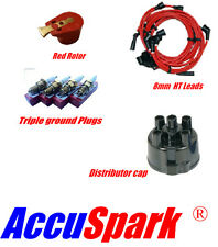 Ford Escort X-flow , HT leads, AC9C plugs,Red Rotor & Distributor cap 45D