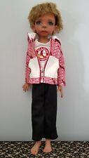 Cardinals baseball Hoodie Clothing Set Msd Bjd Kaye Wiggs Doll 18 inches
