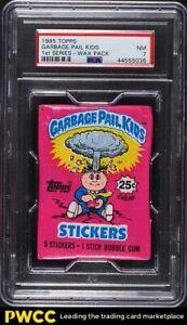 1985 Topps Garbage Pail Kids 1st Series Wax Pack PSA 7 NRMT