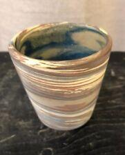 {H-6} Niloak  Missionware Unmarked Pottery Swirl  Pot