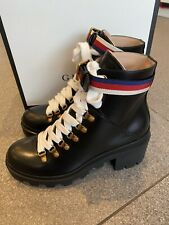 NWB GUCCI  Trip Ankle Boots Size 38 (5UK)