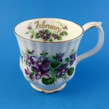 Royal Albert Flower of the Month Series February Violets Mug