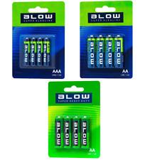 4x AA AAA Batteries Alkaline or Super Heavy Duty LR6 AM3 / LR3 / R06P 1.5v