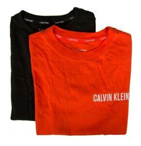 Pack of 2 t-shirt boy child short sleeve crew neck bipack underwear CK CALVIN KL