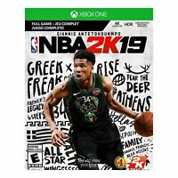 NBA 2K19 for Xbox One Code card