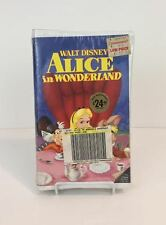 Walt Disney's 'Alice In Wonderland' Black Diamond Edition (VHS) Brand New/Sealed