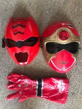 POWER RANGERS red Accessories Masks And Glove