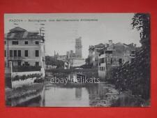 PADOVA Bacchiglione vecchia cartolina
