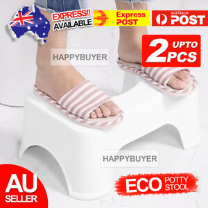 Sit and Squat Squatty Potty ECO Toilet Stool Healthy NON-SLIP Oz Stock 1X 2X AU