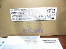 One New Panasonic AC Servo Motor MSMA152A1G
