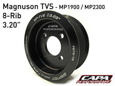 "Supercharger Pulley ZPE GripTec Magnuson MP1900 / MP2300 TVS 3.20"" 8-Rib"