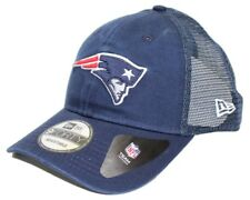 """New England Patriots New Era 9Forty NFL """"Trucker Washed"""" Adjustable Hat"""