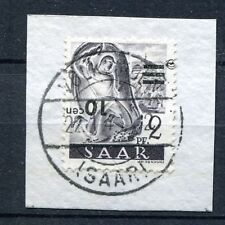 GERMANY SAAR 1947 MICHEL 226 II K SCOTT 175 SUPERB USED INVERTED OVPT EXPERTIZED