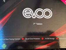 """EVOO (EV-A-81-7-3) 7"""" Android Tablet, Quad Core, 16GB Storage, Micro SD - Pink"""
