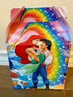 10ct Little Mermaid Party Favor Candy/Treat Boxes Loot Bag Goody Cajita Dulcera