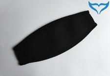 Maskenband Neopren schwarz universal Schutz Tauchmaske Tauchermaske Überzug NEU