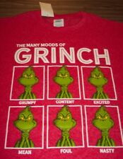 FUNNY Dr. Seuss THE GRINCH WHO STOLE CHRISTMAS T-Shirt 2XL XXL NEW w/ TAG