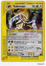 Pokemon Cards - KABUTOPS 150/144 - Expansion Skyridge - CRYSTAL TYPE - E-CARDS