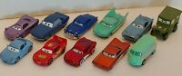 LOT x11 Disney Pixar CARS Diecast Lightning McQueen Radiator Springs Mixed Lot