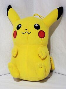 "Pokemon Pikachu Stuffed Plush Toy Factory 10"" Official Nintendo 2017 Authentic"