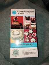 Cricut Martha Stewart Crafts Cartridge, Seasonal Cake Art Preowned (L)