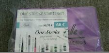 NEU Marielle plüschke mein one stroke set nailart Pinsel & Buch step by step