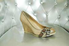 Chaussures Compensées  Bagatt  Sand Cuir Taupe 39
