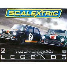 Scalextric 1:32 Australian Atcc Mini Cooper S 1964 Legends Two Car Set Le 3586