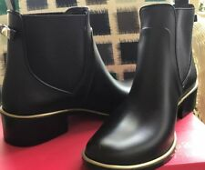 63826610a72e Kate Spade Sedgewick Women US 9 Black Rain Boot Blemish 13305