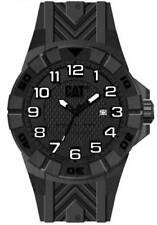 Mens Caterpillar CAT Special OPS K212121111 Black Rubber Black Dial Date Watch