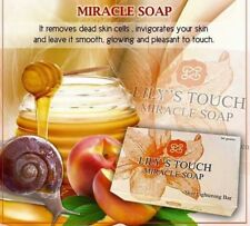 Lily's Touch Miracle Skin Lightening Bar Soap 3 Powerful Anti-Aging Wrinkles 90g