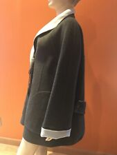NWT$2895 GIORGIO ARMANI Angora Wool Gray Coat Jacket  sz 50/ L