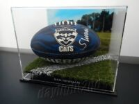 ✺Signed✺ SAM NEWMAN Geelong Cats Football PROOF COA 2020 Jumper AFL