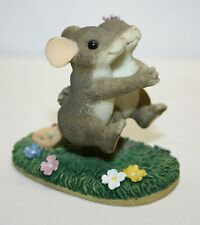 """Charming Tails It Takes Two To Tango Dancing Mice Figurine 3"""""""