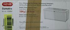 Keter Kissenbox Auflagenbox Sumatra, Graphit, 511L, 145 x 73 x 64cm