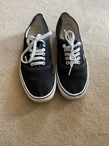 Vans Authentic Old Skool Black Size 10