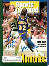 Larry Bird Magic Johnson signed autograph autographed 1992 Sports Illustrated SI