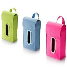 Hanging Cuboid Tissue Box Dispenser Car Home Facial Napkin Box Cover Stylish