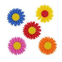 10 pezzi Adesivo in schiuma Adesivo fiore di girasole Fiore 3D per artigianato