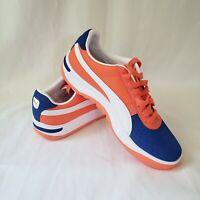 Puma GV Special Kokono NY Mets 369664-03 Orange Blue White Men's Size 9.5