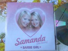 Samanda (The Twins) – Barbie Girl Sony BMG Music Entertainme UK Promo CD Single