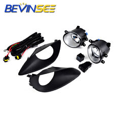 For Toyota Yaris Sedan 07-12 Fog Lights Projector Driving Bumper Lamps+Switch