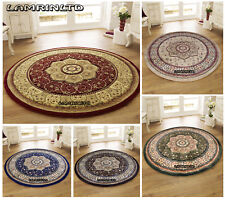 Circular Circle Round Traditional Classic Prestige Rugs (150x150cm) Approx 5x5