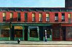 Early Sunday Morning United States Street Edward Hopper Fine Art FREE S/H in USA