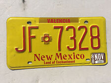 """1988 NEW MEXICO TRUCK LICENSE PLATE """" JF 7328 """" NM 88"""
