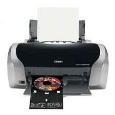 Epson Stylus Photo R200 Printer w ink + CDs - Print Inkjet CDs / DVDs + Photos