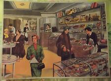 Objet de Métier Affiche Scolaire Salon de Thé Chocolaterie Chocolat Pâtisserie