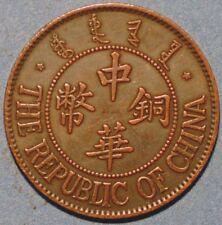 10 Cash (10 Wen) Date 13 coper Y#311 Republic of China