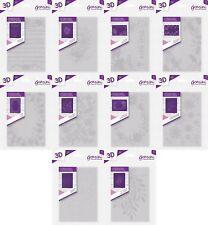 Gemini By Crafter/'s Companion ~ A6 3D Carpeta de grabación en relieve ~ recargado florecer